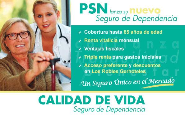 PSN seguro dependencia