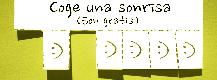 coge una sonrisa
