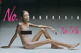 Famosa campaña contra la anorexia del fotógrafo Oliviero Toscani.
