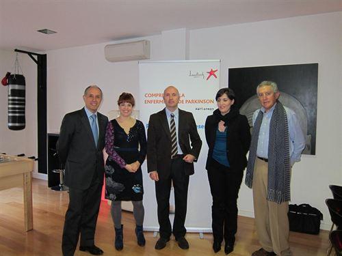 Imagen de la jornada organizada por la Asociación Parkinson de Madrid.