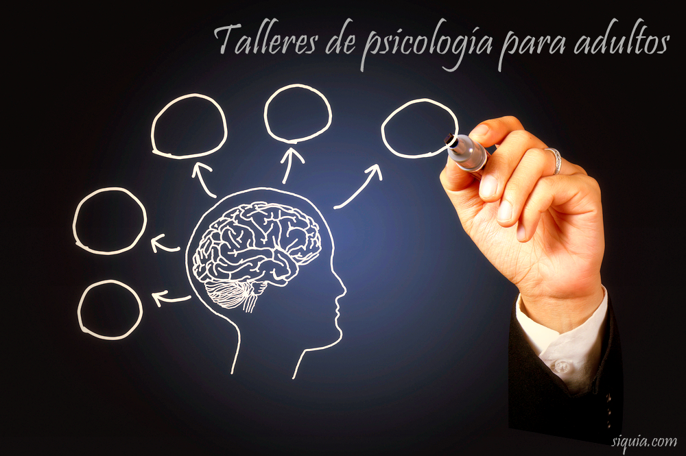 Talleres y cursos psicología siquia