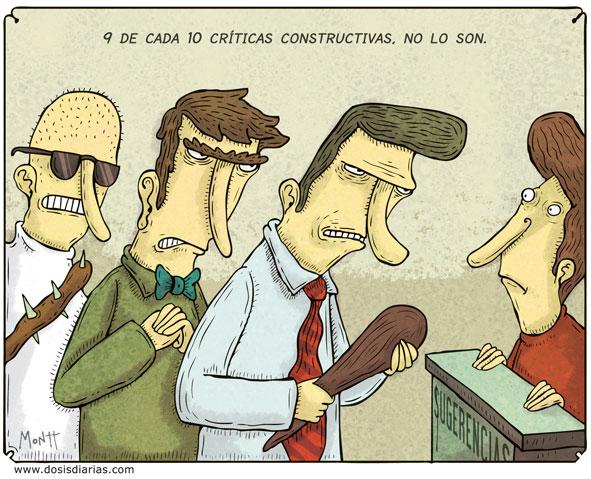 7 consejos para hacer críticas constructivas