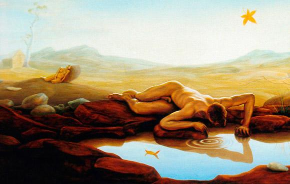 mito de narciso psicologla