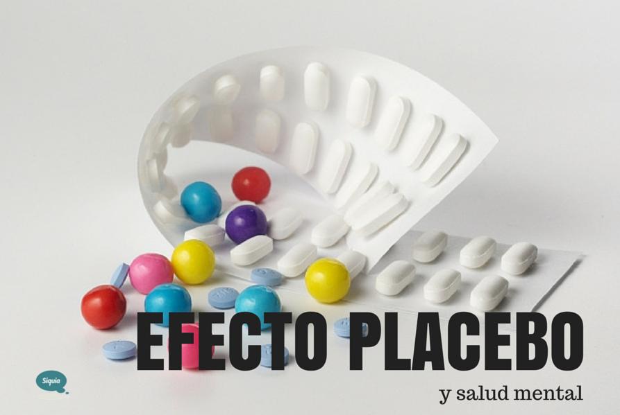 efecto placebo y salud mental