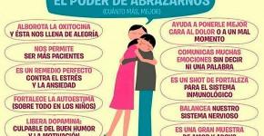 poder del abrazo psicologia