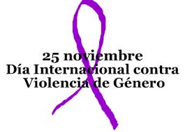 25 noviembre dia violencia género