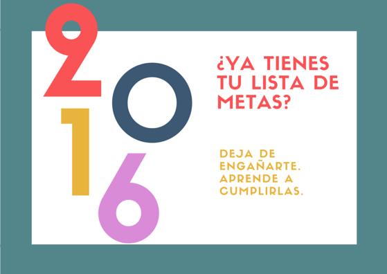 metas año 2016 siquia psicologos