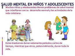 salud mental niños