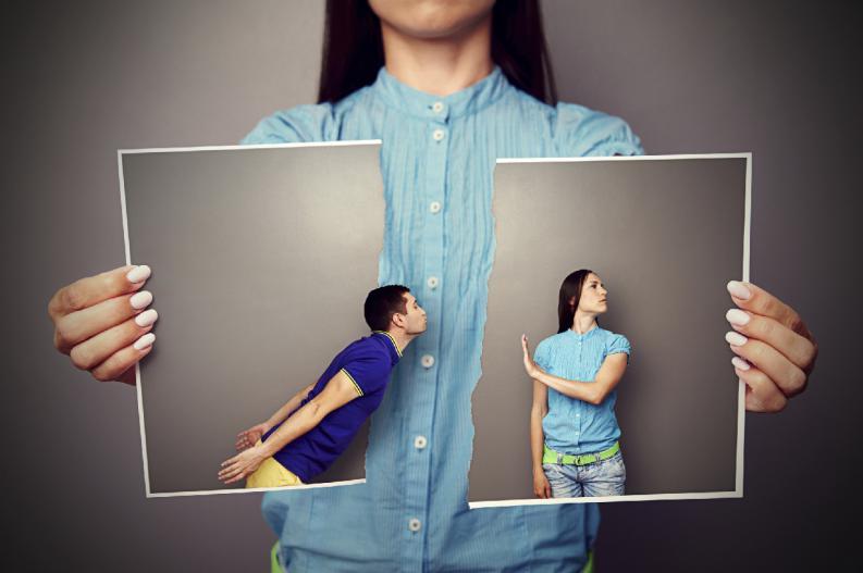 redes sociales ruptura pareja