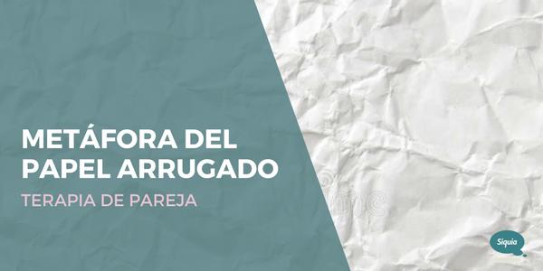PAPEL ARRUGADO TERAPIA SIQUIA