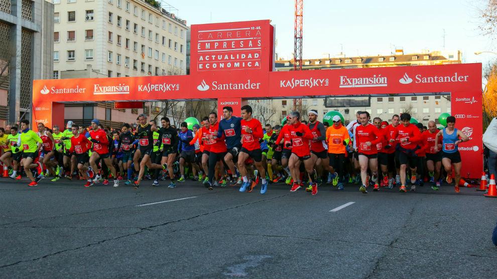 Las carreras de las empresas se han convertido en un clásico creando grupos de corredores dentro de las propias compañías