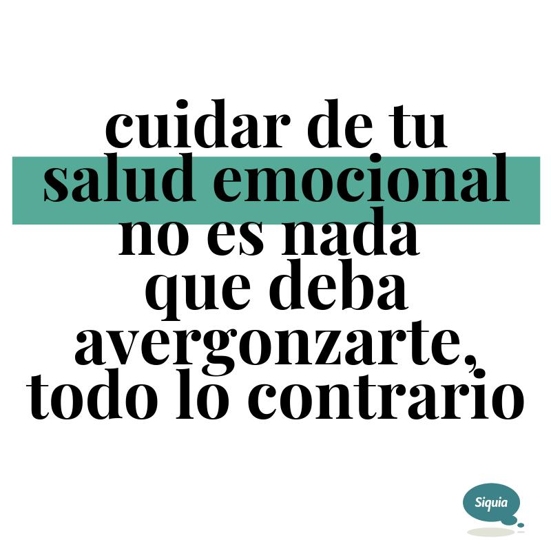 cuidar salud emocional
