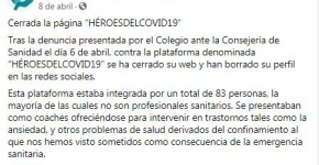 cop madrid heroesdelcovid