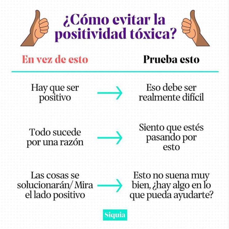 positividad toxica
